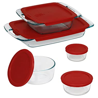 Pyrex 10-Piece Glass Bake and Store Set