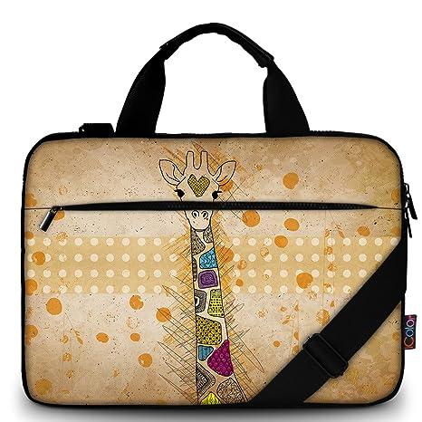 46319079c27f iColor 15 quot  Canvas Laptop Shoulder Messenger Bags 14 quot  15.4 Inch  Office Briefcase 15.6 quot