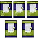"Online Best Service 5 Pack Large Sales Order Book Receipt Invoice Duplicate Carbonless 50 Sets 5.5"" X 8""5"