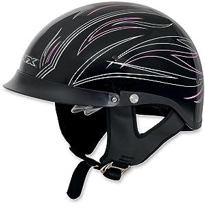 AFX FX-200 Unisex-Adult Half-Size-Helmet-Style Helmet