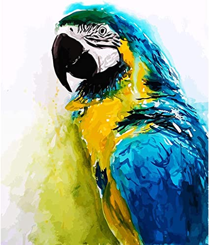 Parrot Diamond Painting 5D DIY Full Drill Embroidery Cross Stitch Kits Art Decor