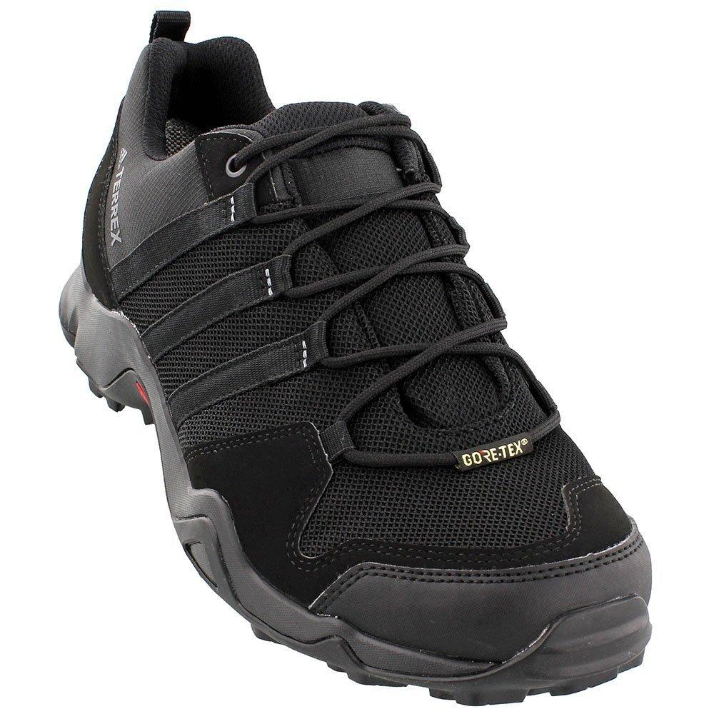 adidas Sport Performance Men's Terrex AX2R Gore-Tex Hiking Sneakers, Black Textile, 11 M