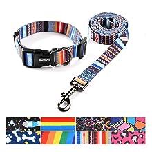 ihoming Pet Collar Leash Set