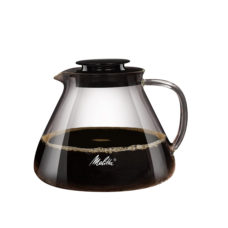 Melitta Kanne aus Borosilikatglas 217625 Robust und Hitzebest/ändig 0,7 Liter