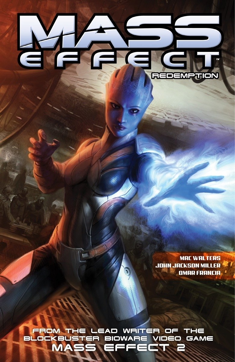 MASS EFFECT DISCOVERY GRAPHIC NOVEL Paperback Collect Mass Effect Discovery #1-4