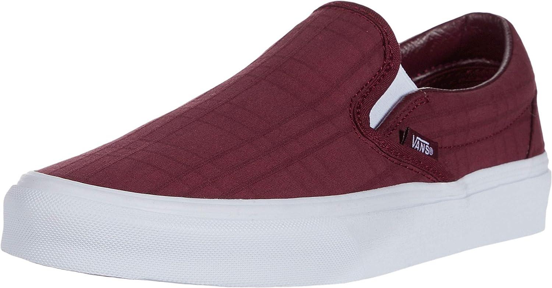 Vans Men's Classic Slip-On Tonal Plaid Skate Shoe