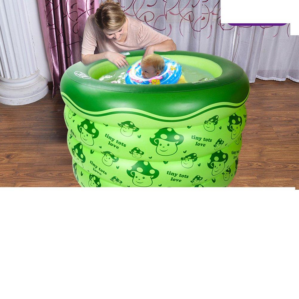 Holding Baby Schwimmbad/Aufblasbare gepolstert Queen Baby schwimmen Fässer/Junge Kinder Runde Badewanne Fass-D