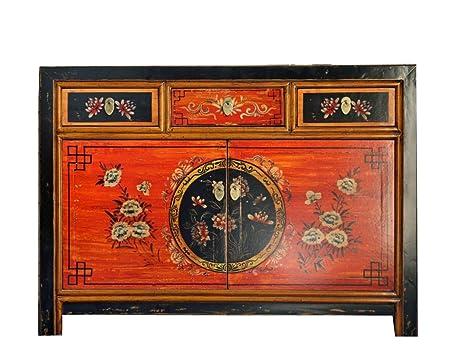 opium outlet - Cómoda China con diseño de Flores de ...