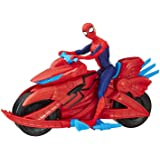 Hasbro Collectibles - Spider-Man with Cycle (Marvel)