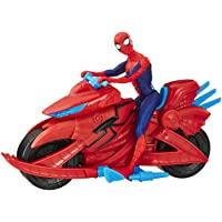 Spider-Man Figure with Cycle, Multi