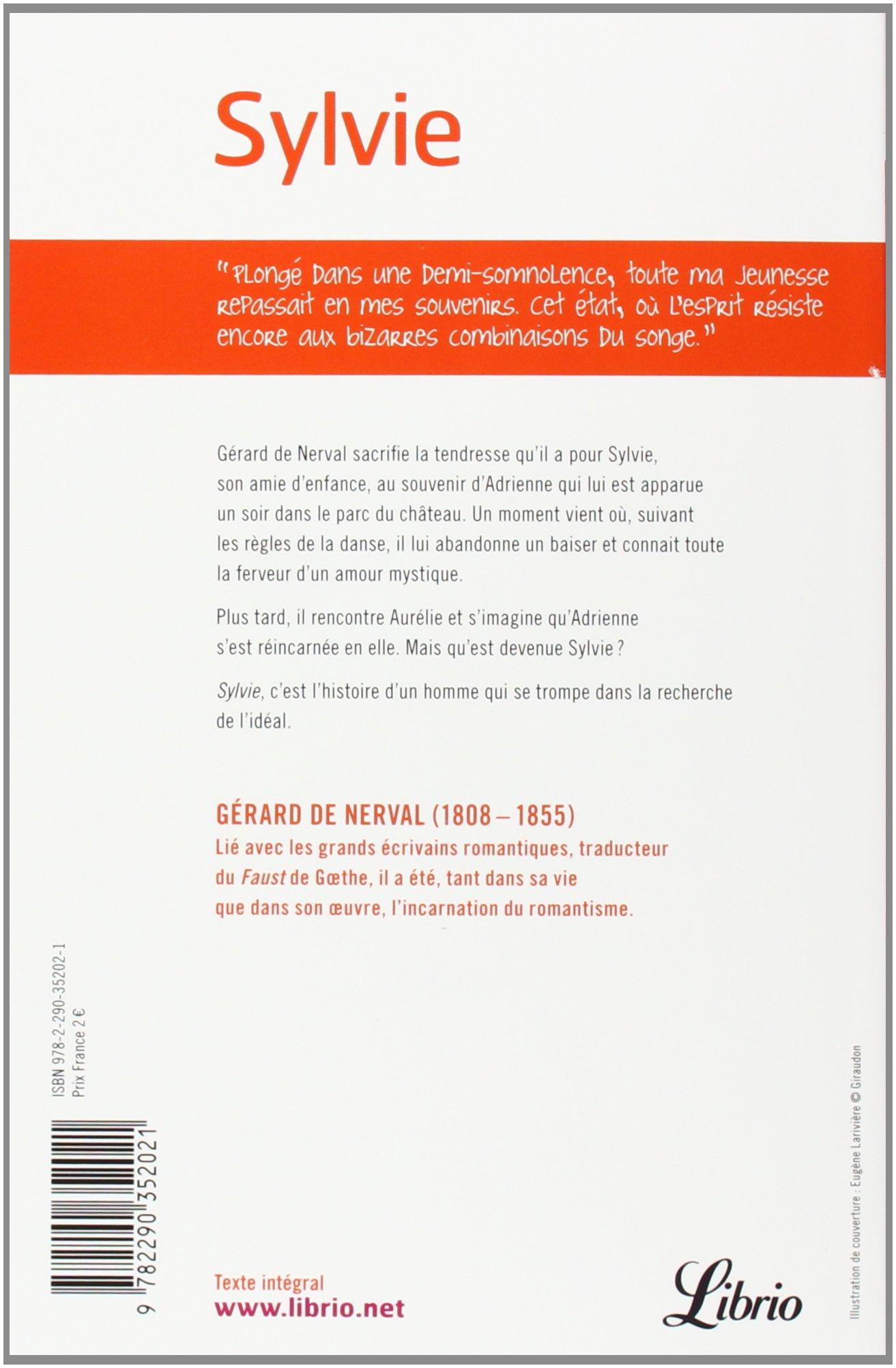 Sylvie Suivi Des Chimeres Et Dodelettes Librio Amazon