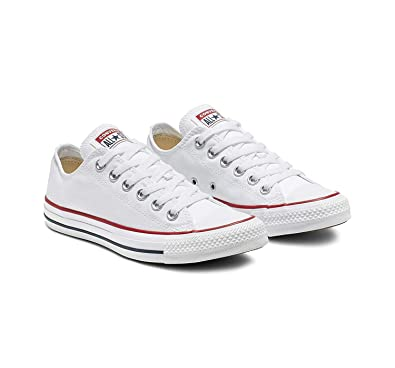 Converse Men Chuck Taylor All Star Low Ox (black white) size 9.5 US