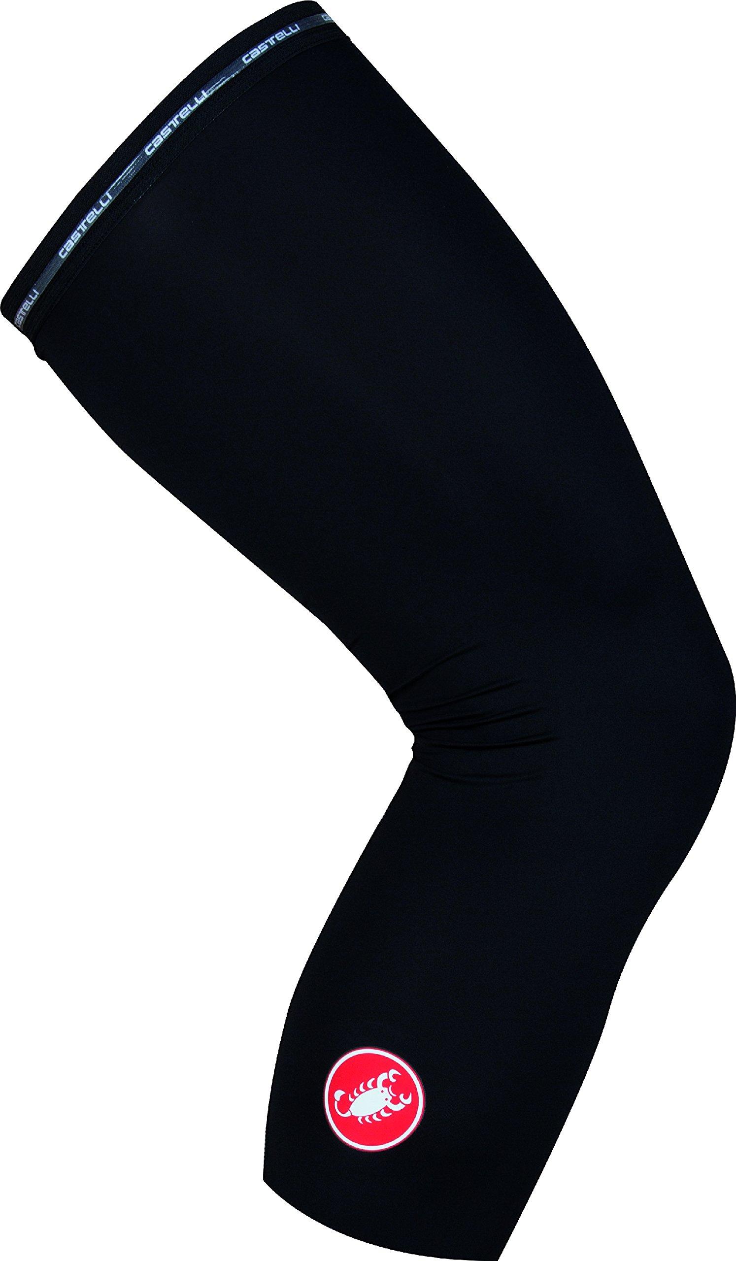 castelli UPF 50+ Light Knee Sleeves Black, S