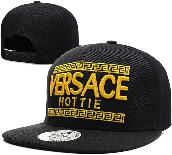 General Versace Snapback Sombreros/Gorras (Negro con el Logotipo ...