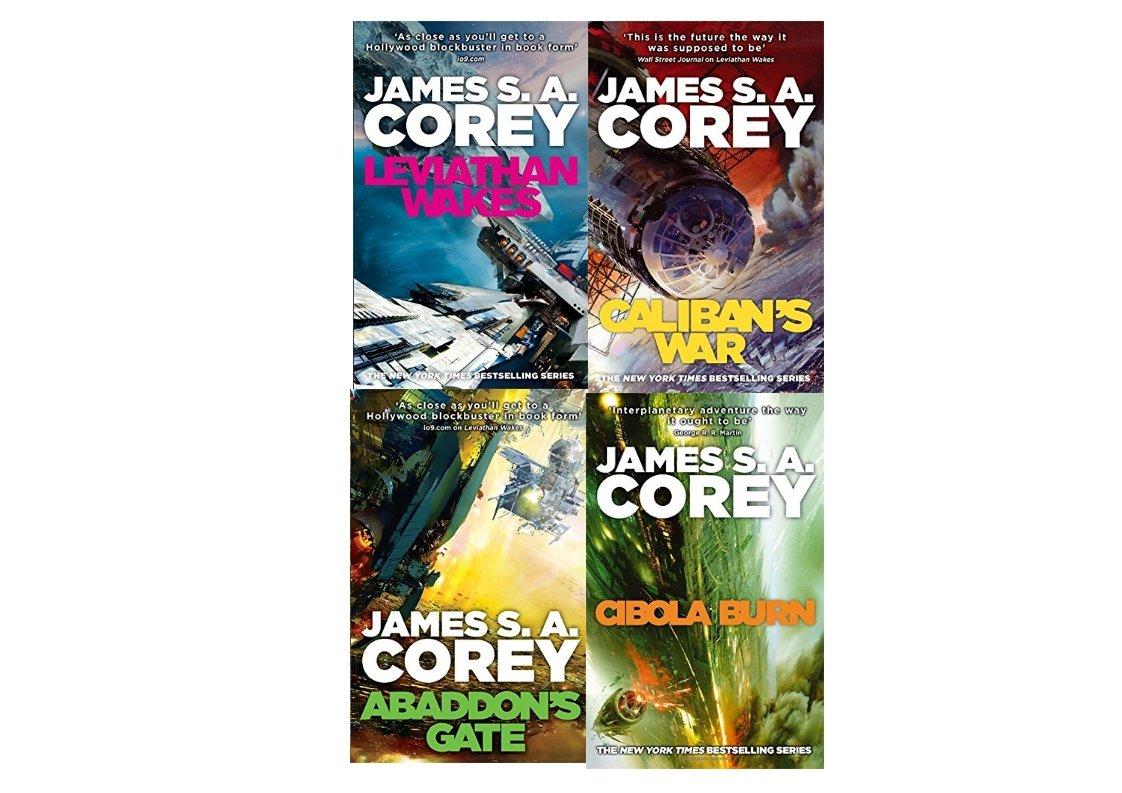 The Expanse Box Set: Leviathan Wakes, Caliban's War, Abaddon's Gate &  Cibola Burn: Amazon: Jamessa Corey: 9780007857999: Books
