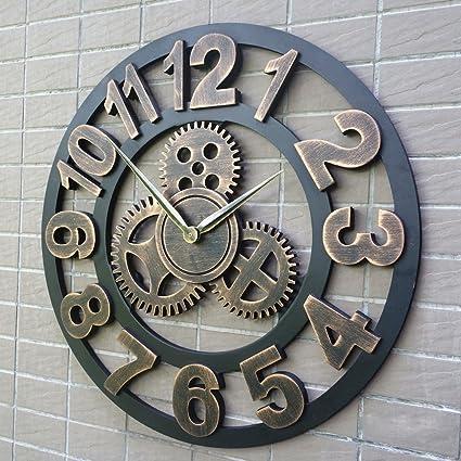 ASL Gear Reloj Relojes Personalizados Industrial Viento Mudo Reloj Reloj Retro Reloj Creativo Decoración De La