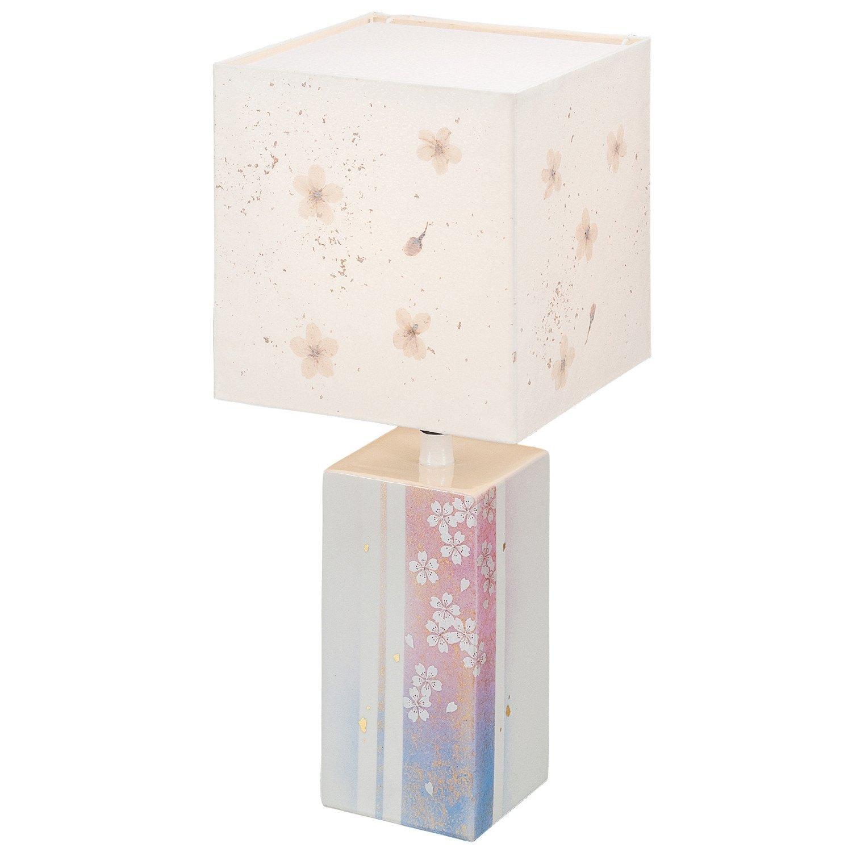 【九谷焼】ランプスタンド 桜 60W電球1個付 紙箱入 B01LWI429B