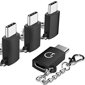 Adaptador USB C, Gritin 4 pack Adaptador USB Type C a Micro ...