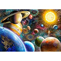 """Nattork Jigsaw Puzzles for Adults 1000 Piece Large Puzzle, Planetary Vision Jigsaw Puzzle - 27.56"""" x 22"""""""