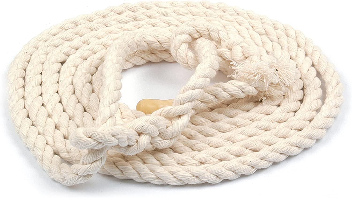 Stockshop 16mm Bleached Cotton Cow Halter Rope Lead For Livestock Handling and Showing /& Tigerbox/® Antibacterial Pen.