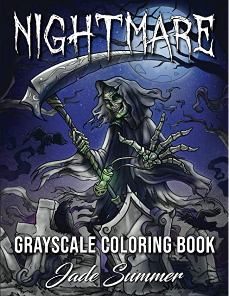 - Nightmare Grayscale: A Horror Coloring Book With Terrifying Monsters, Evil  Women, Dark Fantasy Creatures, And Gothic Scenes For Relaxation (Horror Coloring  Books For Adults): Summer, Jade: 9798684965760: Amazon.com: Books