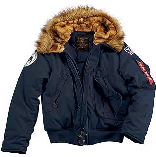 Alpha Industries Herren Jacke Mantel Mountain Jacket: Amazon
