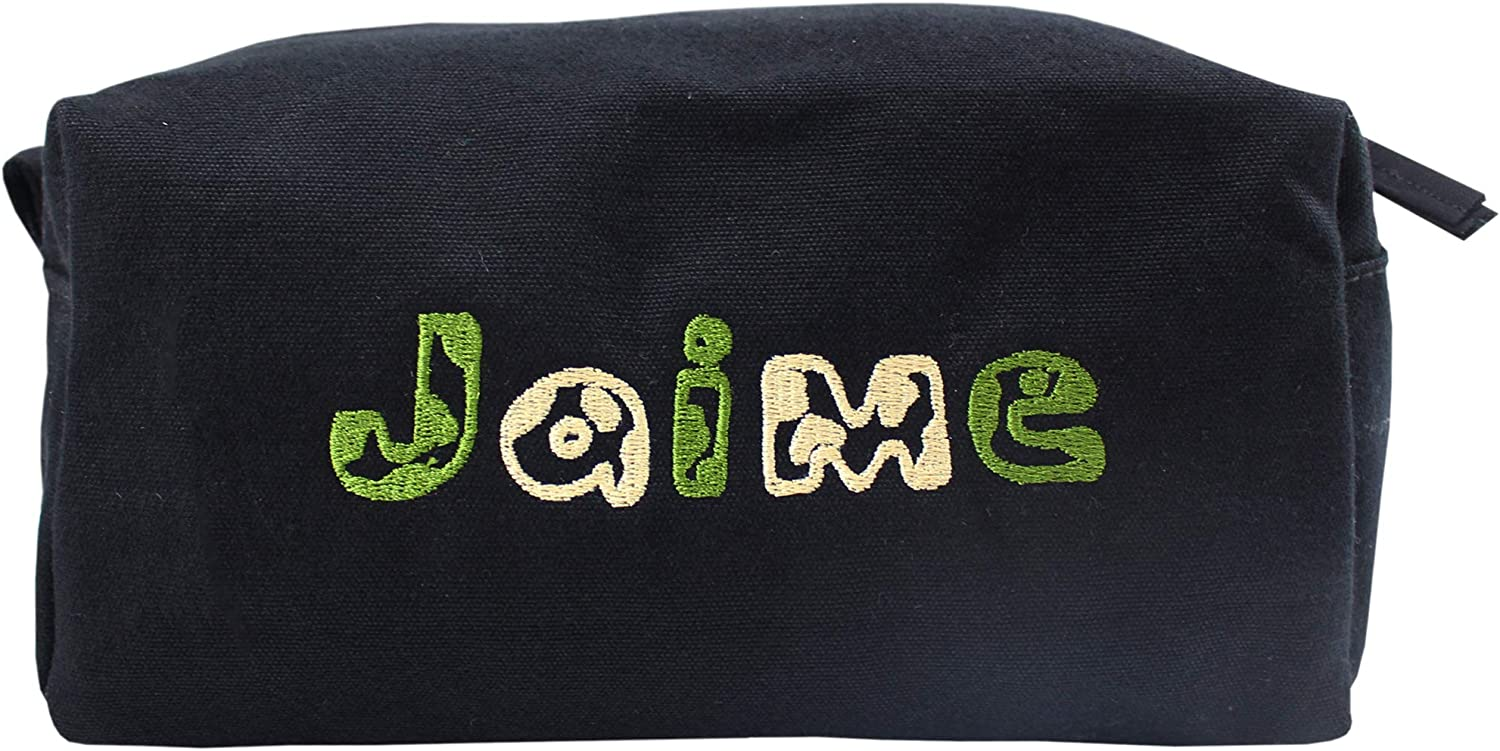 Personalised Army Camouflage Name Travel Accessory Black Wash Bag