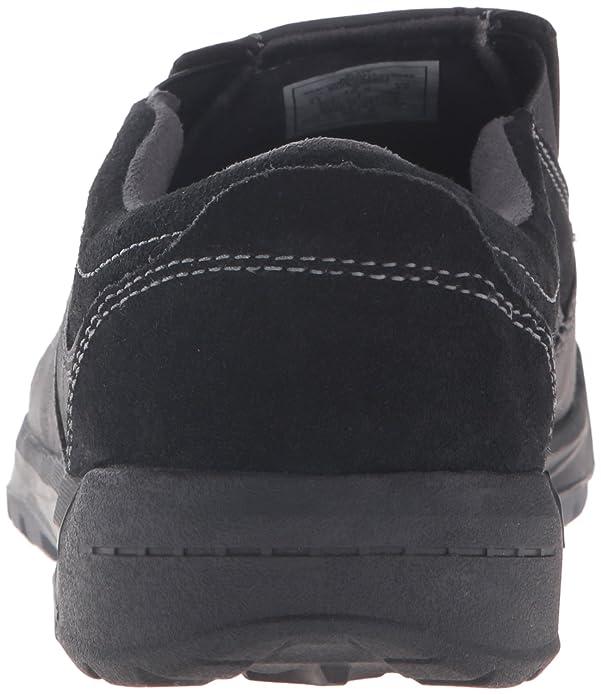 Merrell Hombres Berner Moc Resbalón-en el zapato, Black, 40 D(M) EU
