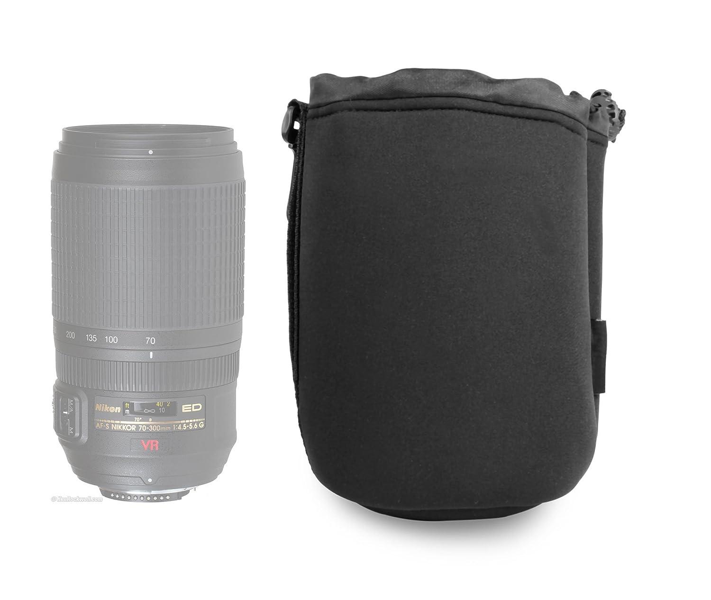 DURAGADGET Estuche De Neopreno para Lente Nikon AF-S VR 70-300mm ...