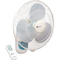 Orient Electric Wall-49 400mm Wall Fan with Remote (Crystal White)