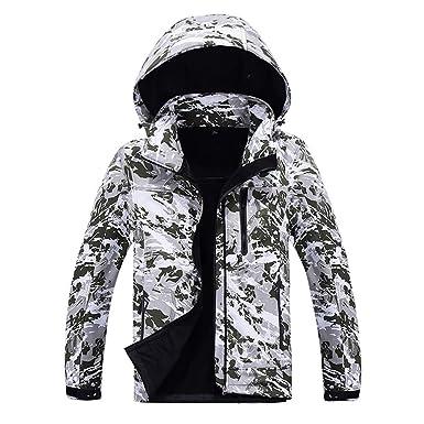 Camouflage Softshell Kapuzenjacke Herren Herren FRAUIT j3AcR5q4L