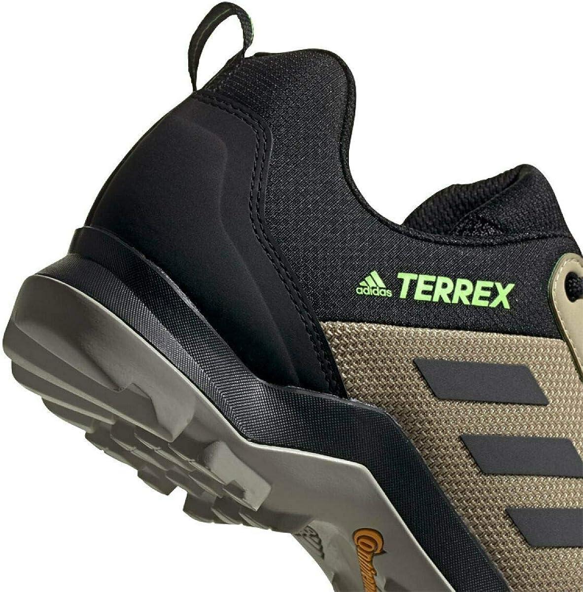Adidas Herren Terrex Ax3 Leichtathletik-Schuh Savannah Core Schwarz Signal Grün