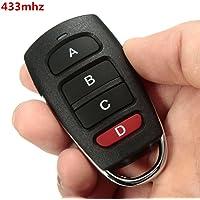 Audew Mando de Garaje Remote 433Mhz Puerta cochera