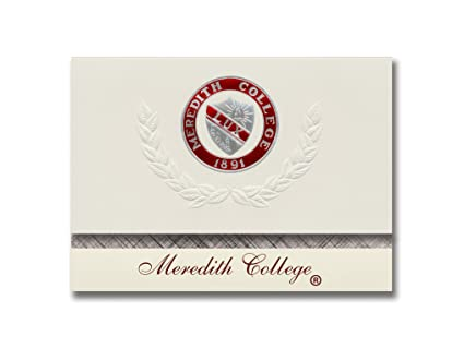 amazon com signature announcements meredith college graduation
