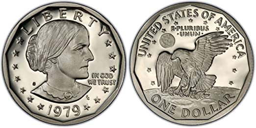 1979-S Susan B  Anthony Dollar - Proof