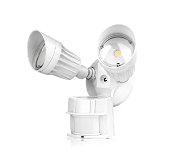 Hyperikon LED Security Light, 20W (100W Equivalent) Outdoor Motion Sensor  Light, 1800lm