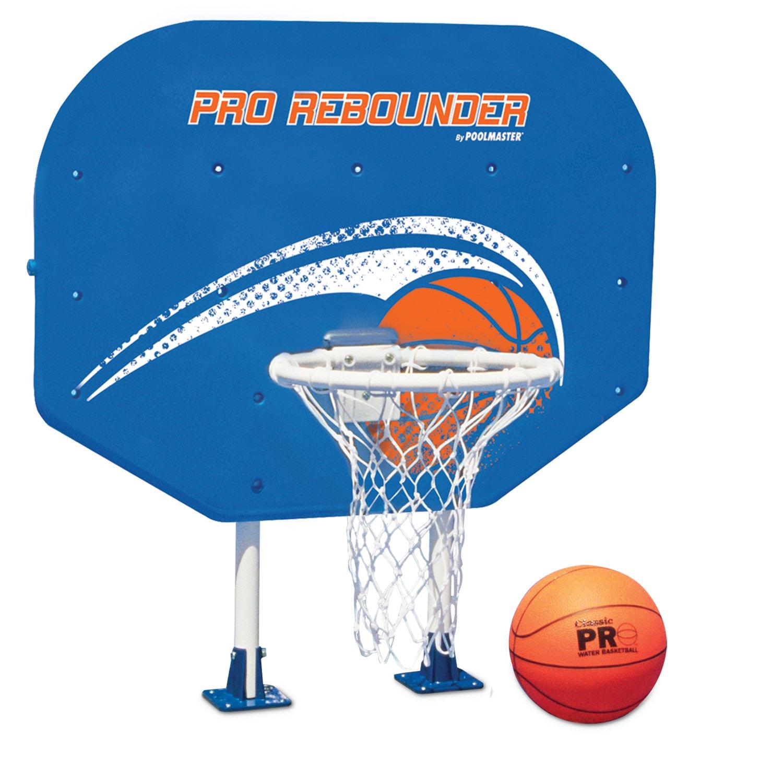 Poolmaster 72774 Pro Rebounder Poolside Basketball Game with Perma-Top Mounts by Poolmaster