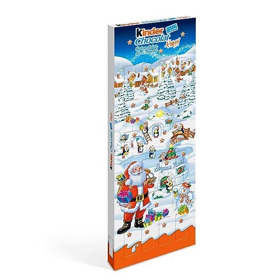 Calendrier De Lavent 2019 Kinder.Kinder Schokolade Advent Calendar Funny Christmas Gang 24 Chocolate Figures With A Delicious Milk Filling