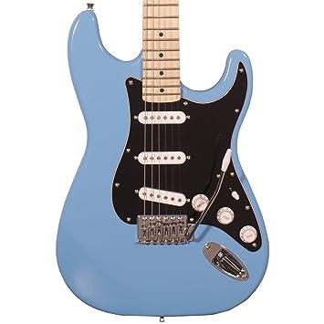 Dentada Classic es 60 Cuerpo de aliso Guitarra Eléctrica con 3 capas golpeador: Amazon.es: Instrumentos musicales