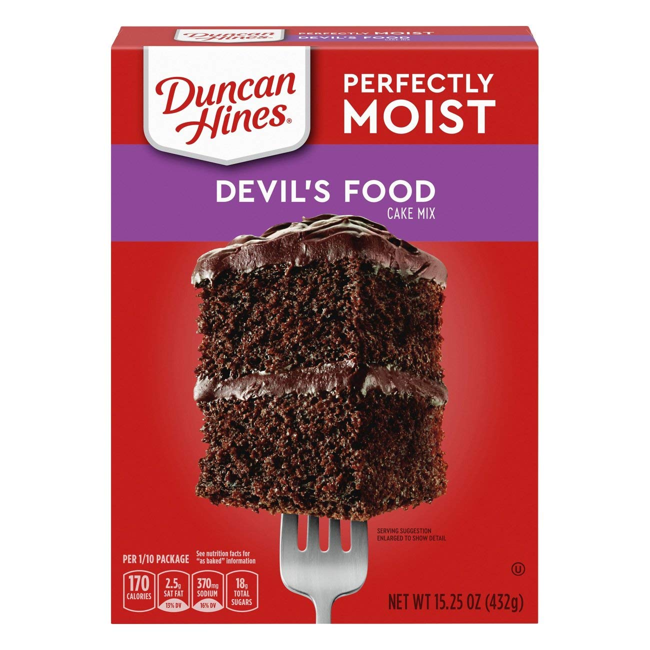 Duncan Hines Classic Deliciously Moist Cake Mix 15.25 Oz. Pack Of 3.