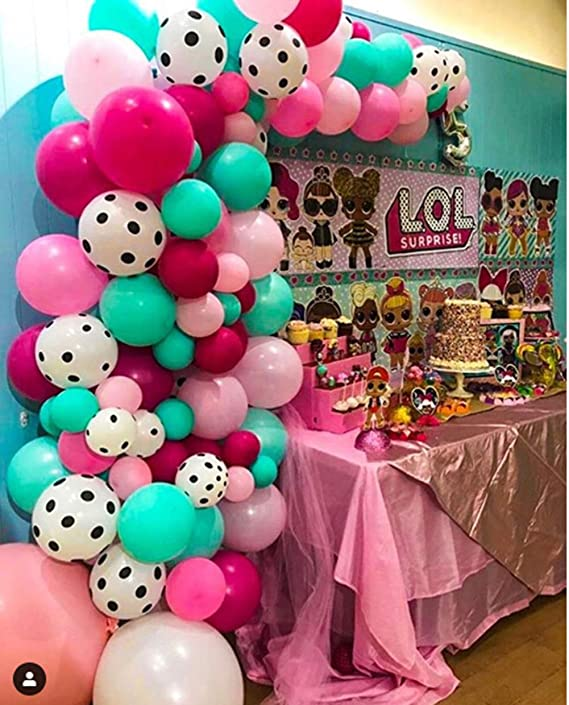 """6-20PCS LOL SURPRISE 12/"""" LATEX KIDS BIRTHDAY BALLOONS FOR PARTY DECORATION"""