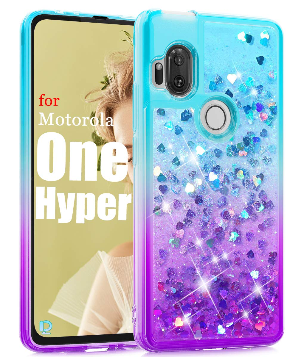 Funda Para Motorola One Hyper (glitter)