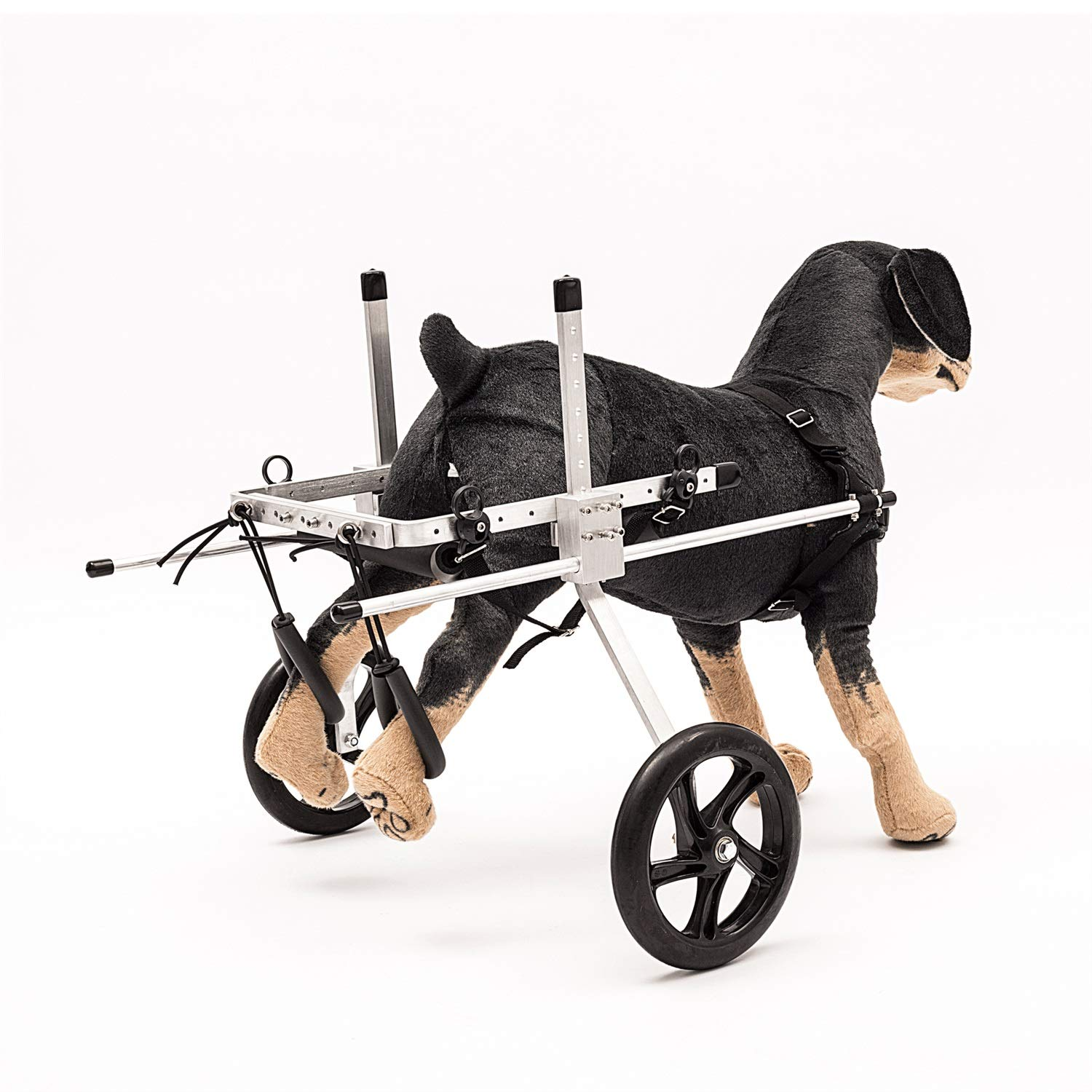 MXA Pet Scooters, Adjustable Stand Bracket pet Wheelchair, Disabled Dogs, Cats Super Lightweight Aluminum Optional, Dog Wheelchair hind hind Limb Paralysis Disability Assistance Dog pet Scooter. by MXA