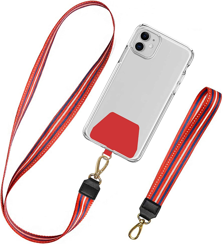 Takyu 2er Universale Handykette Schlüsselband Halsband Elektronik