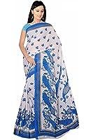 Bollywood mousseline de soie sari Carnaval Orient Inde Fo424