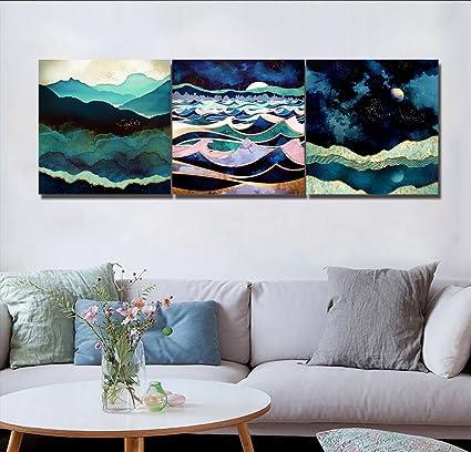 Pittura A Olio Creativa, Pittura Di Paesaggio Astratta, Dipinto A Mano,  Pittura A