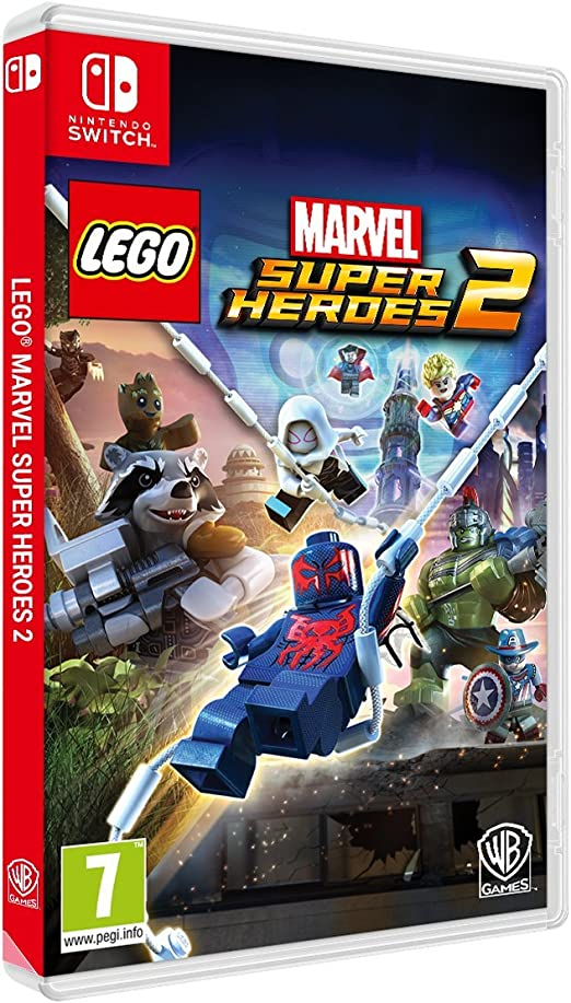 Lego Marvel Super Heroes 2 - Edición Exclusiva Amazon - Nintendo Switch: Amazon.es: Videojuegos