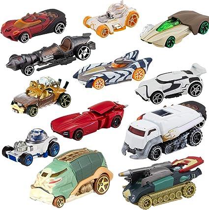 Hot Wheels Star Wars Character Cars