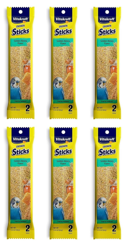 Vitakraft Kracker Sticks with Honey Treat for Parakeets
