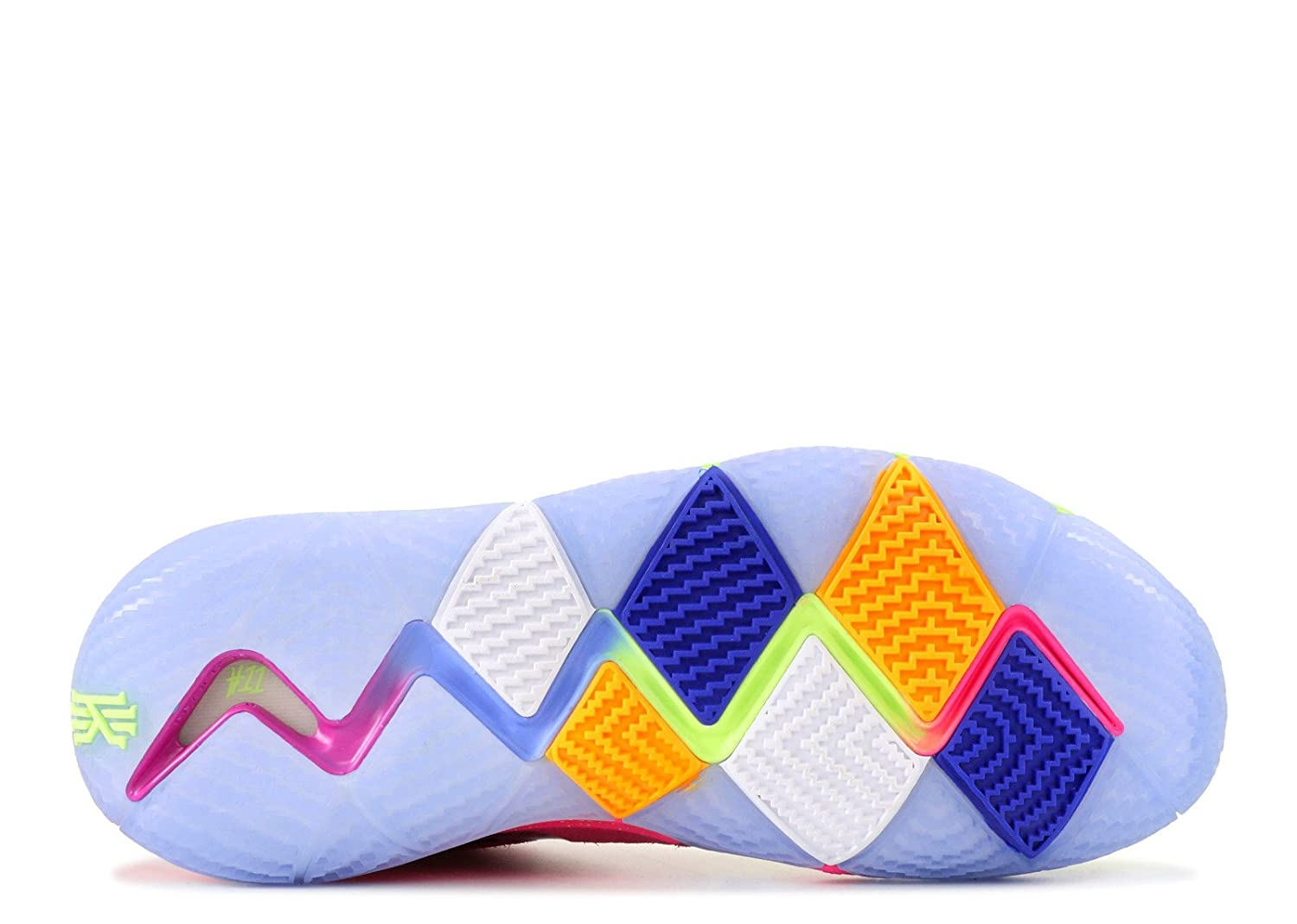 finest selection 44be2 5c72d Amazon.com | Nike Kyrie 4 'Confetti' Mens | Basketball